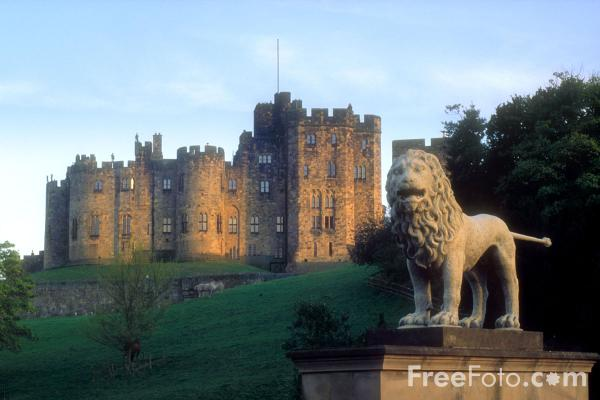 Picture of Alwick Castle, Northumberland - Free Pictures - FreeFoto.com