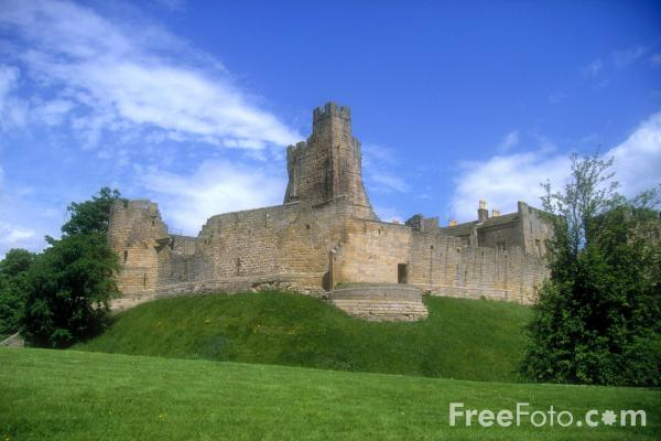 Picture of Prudhoe Castle, Northumberland - Free Pictures - FreeFoto.com