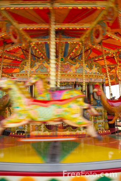 Picture of Fairground Carousel - Free Pictures - FreeFoto.com