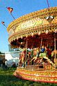Image Ref: 11-06-58 - Merry go round, The Hoppings, Newcastle upon Tyne, Viewed 7681 times