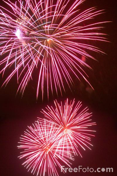 Firework Displays in Northumberland