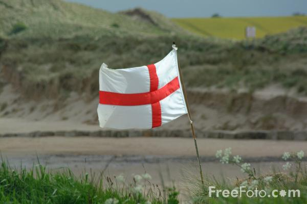 Picture of English Flag - Free Pictures - FreeFoto.com