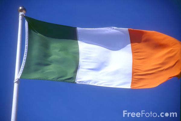 Picture of Irish Flag - Free Pictures - FreeFoto.com