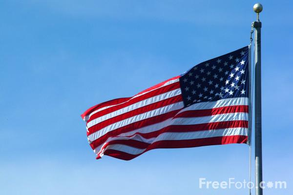 Picture of USA Flag - Free Pictures - FreeFoto.com