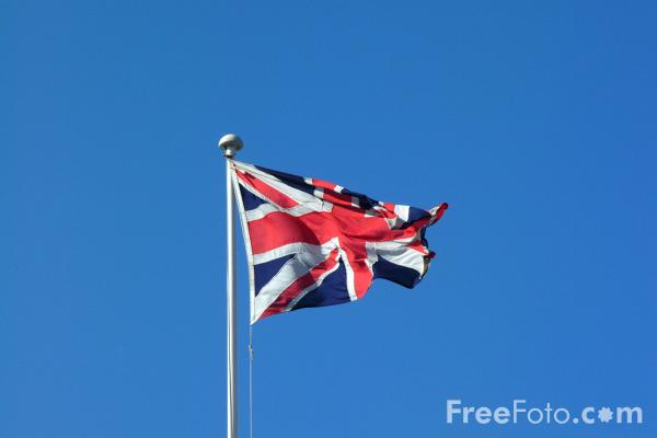 Picture of United Kingdom Flag - Free Pictures - FreeFoto.com