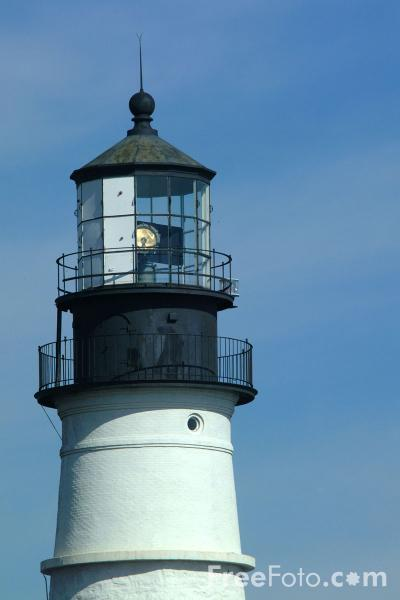 Picture of Portland Head Lighthouse - Free Pictures - FreeFoto.com