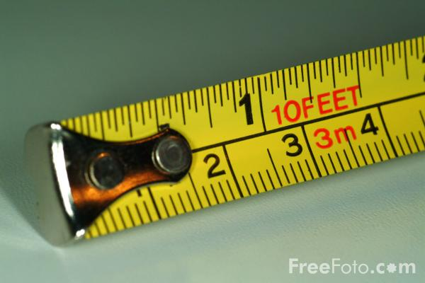 Picture of Tape Measure - Free Pictures - FreeFoto.com