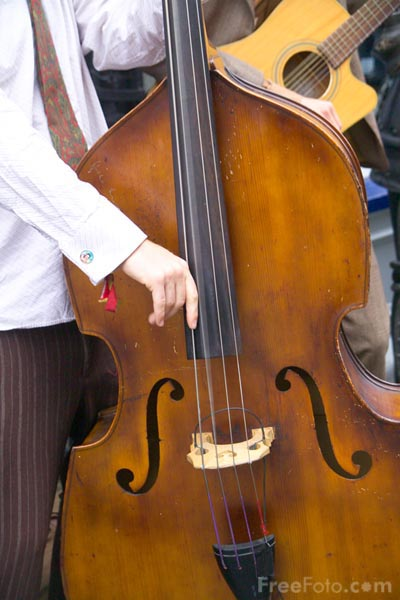 Picture of Double Bass - Free Pictures - FreeFoto.com