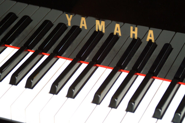 Picture of Grand Piano Keyboard - Free Pictures - FreeFoto.com