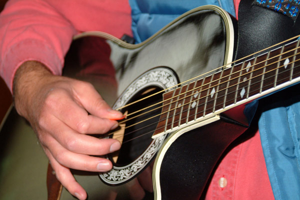 Picture of Acoustic guitar - Free Pictures - FreeFoto.com