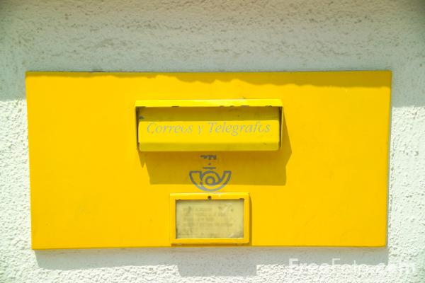 Picture of Post Box, Spain - Free Pictures - FreeFoto.com