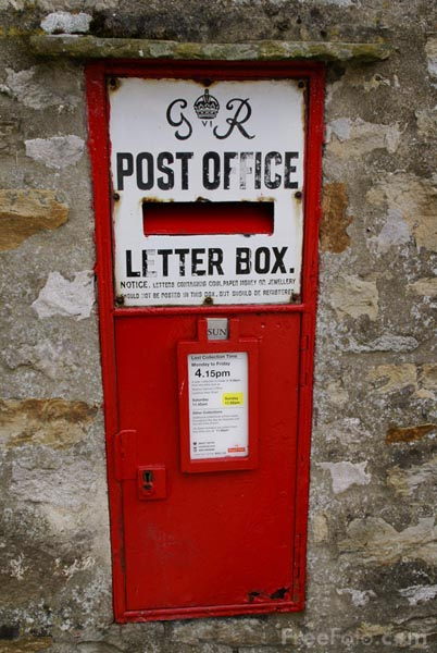 Picture of Mail Box - Post Box - Free Pictures - FreeFoto.com