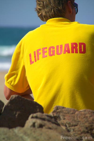 Picture of Lifeguard - Free Pictures - FreeFoto.com