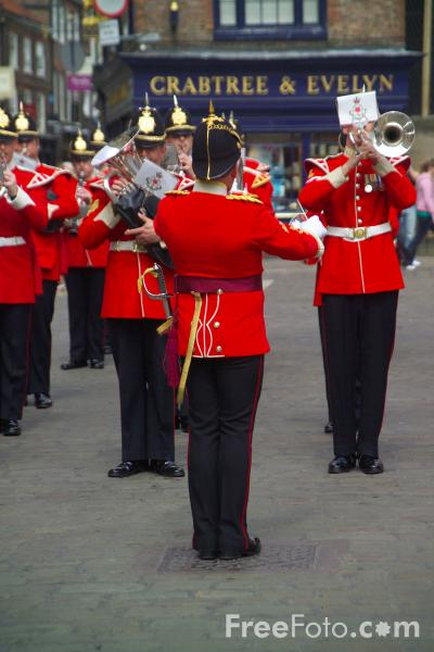 Picture of Band of the King's Division - Free Pictures - FreeFoto.com