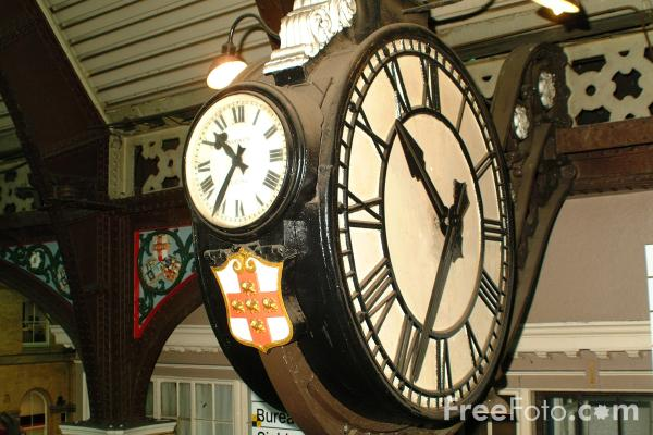 Picture of Station Clock, York - Free Pictures - FreeFoto.com