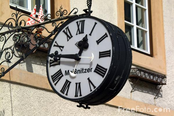 Picture of Clock Face - Free Pictures - FreeFoto.com