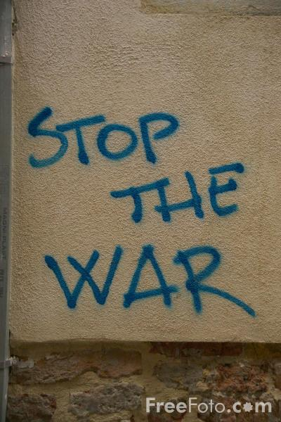 Picture of Stop the War - Free Pictures - FreeFoto.com