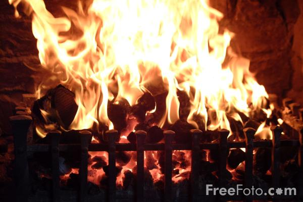Picture of Coal Fire - Free Pictures - FreeFoto.com