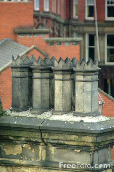 Picture of Chimney Pots - Free Pictures - FreeFoto.com