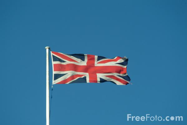 Picture of Union Flag - Free Pictures - FreeFoto.com