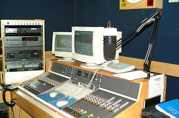 Picture of Radio station - Free Pictures - FreeFoto.com