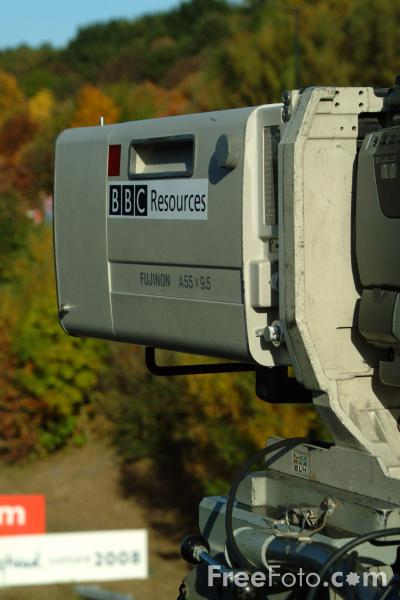 Picture of BBC Resources Television Camera - Free Pictures - FreeFoto.com