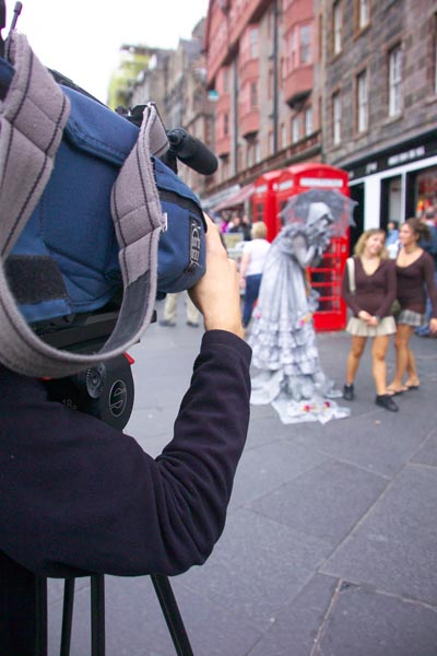 Picture of Television Camera - Free Pictures - FreeFoto.com
