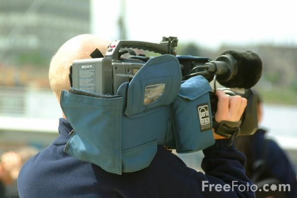 Picture of TV Camera - Free Pictures - FreeFoto.com