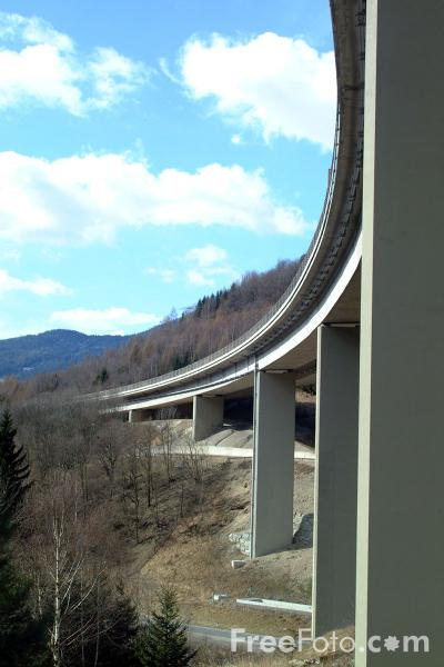 Picture of Motorway Bridge, Austria - Free Pictures - FreeFoto.com