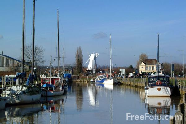 Picture of Windmill, Rye, East Sussex - Free Pictures - FreeFoto.com