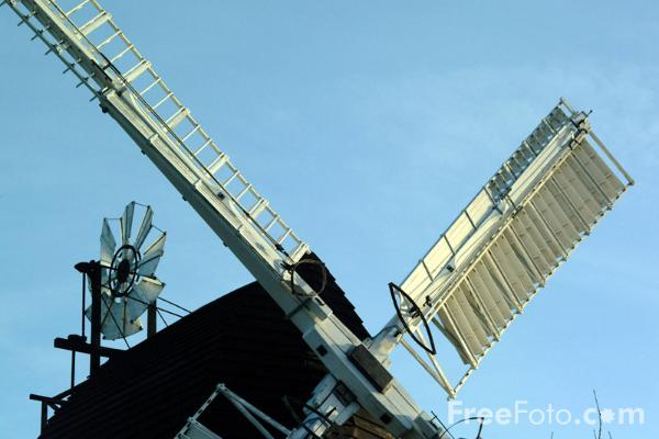 Picture of Windmill, East Sussex - Free Pictures - FreeFoto.com