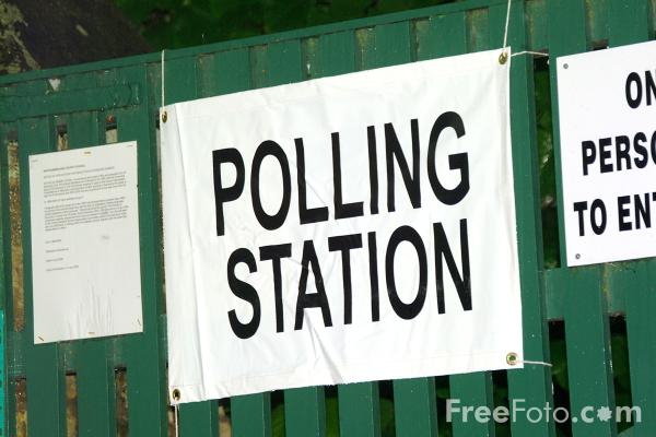 Picture of Polling station - Free Pictures - FreeFoto.com