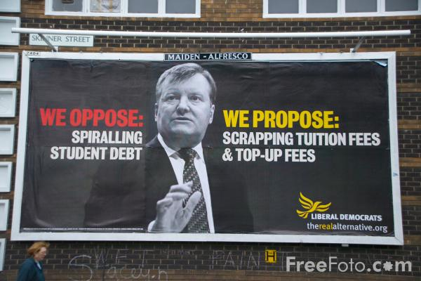 Picture of Liberal Democrats Poster Campaign 2005 - Free Pictures - FreeFoto.com