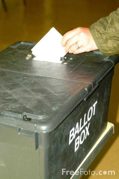 Picture of Ballot Box - Free Pictures - FreeFoto.com