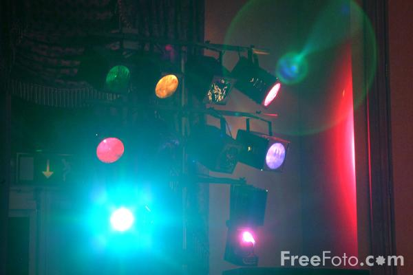 Picture of Theatrical Lighting - Free Pictures - FreeFoto.com