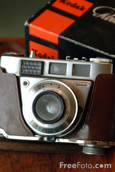 Picture of Kodak 35mm Retinette 1B Camera - Free Pictures - FreeFoto.com