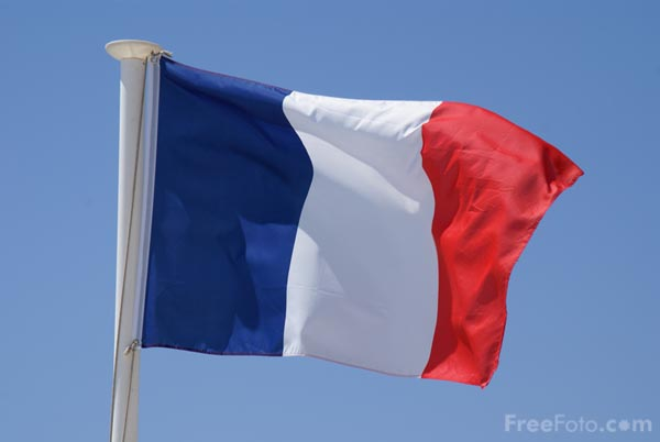 Image result for french flag creative commons