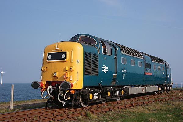 Picture of Deltic D9000/55022 Royal Scots Grey - Free Pictures - FreeFoto.com