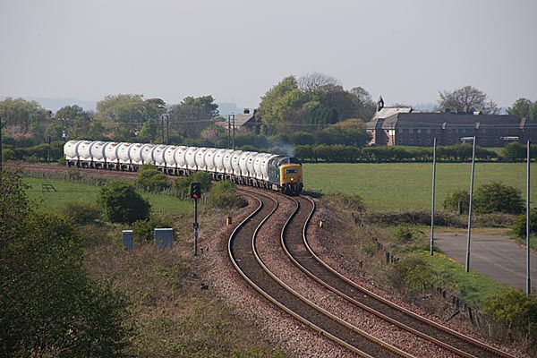 Picture of Deltic D9000/55022 Royal Scots Grey at Cambois - Free Pictures - FreeFoto.com
