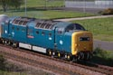 Image Ref: 112-70-5711 - Deltic D9000/55022 Royal Scots Grey near Cambois, Viewed 1546 times