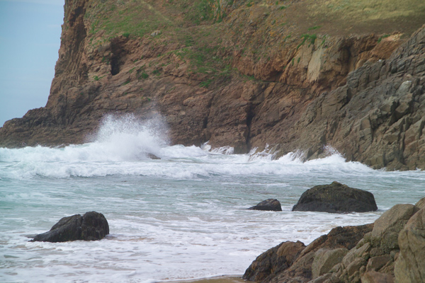 Picture of Plemont Bay, Jersey, The Channel Islands - Free Pictures - FreeFoto.com