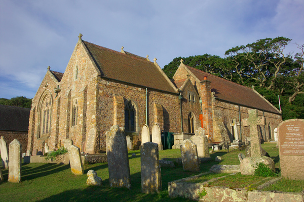 Picture of St Brelade's Parish Church , Jersey, The Channel Islands - Free Pictures - FreeFoto.com