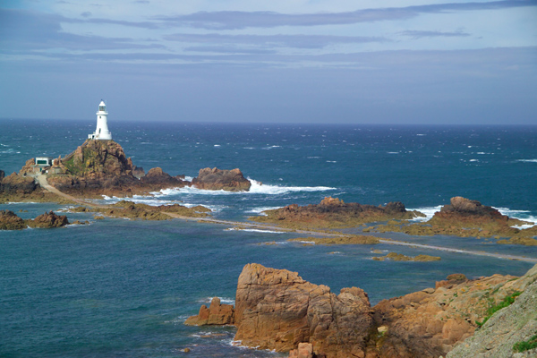Picture of Corbiere Lighthouse, Jersey, The Channel Islands - Free Pictures - FreeFoto.com