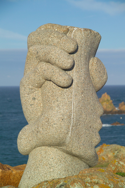 Picture of Saint-Malo Sculpture, Jersey, The Channel Islands - Free Pictures - FreeFoto.com