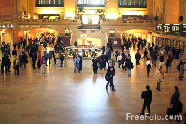 Picture of Grand Central Terminal New York City - Free Pictures - FreeFoto.com