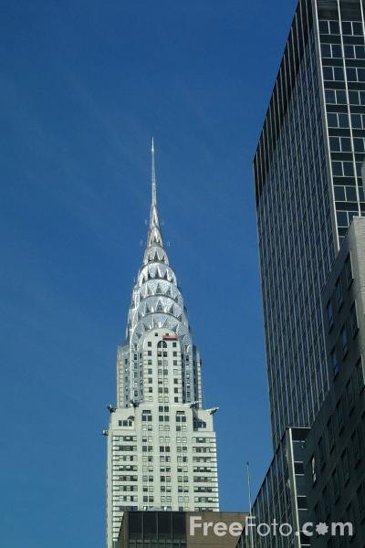 Picture of The Chrysler Building New York City - Free Pictures - FreeFoto.com