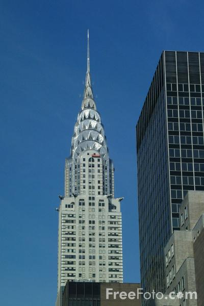 Picture of The Chrysler Building New York City - Free Pictures - FreeFoto.