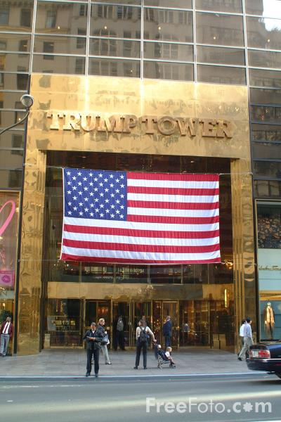 Picture of Trump Tower, New York City - Free Pictures - FreeFoto.com
