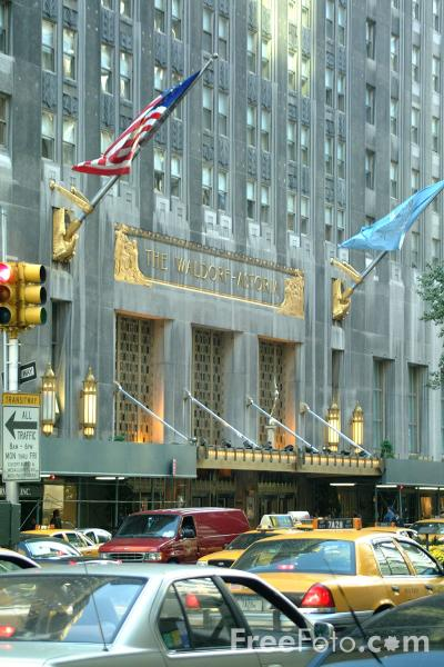 Picture of The Waldorf Astoria Hotel, New York City - Free Pictures - FreeFoto.com