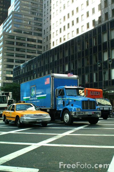 Picture of Truck, New York City - Free Pictures - FreeFoto.com